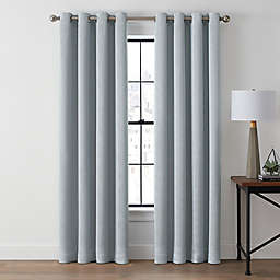 Brookstone® Zadie 95-Inch Grommet 100% Blackout Window Curtain Panel in Arctic Blue