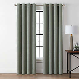 Brookstone® Zadie 95-Inch Grommet 100% Blackout Window Curtain Panel in Moss