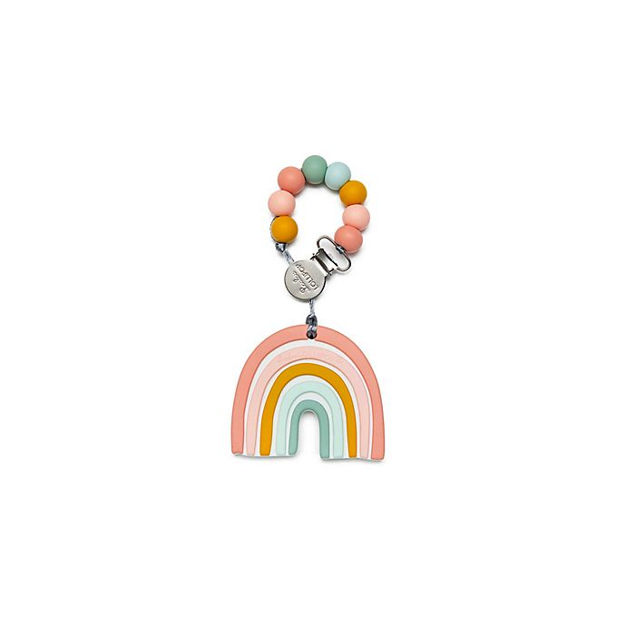 Alternate image 1 for Loulou Lollipop Shaped Teether with Clip