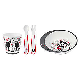 NUK® Mickey Mouse 4-Piece Infant Tableware Set