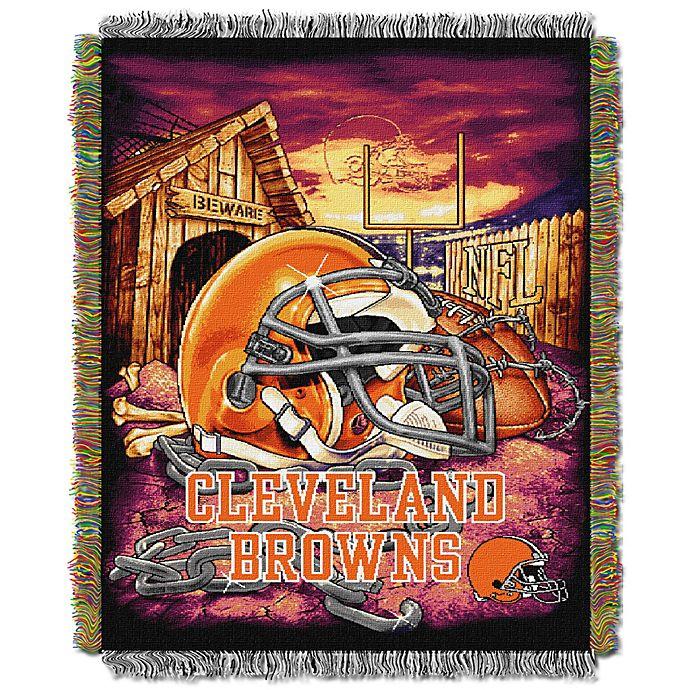 8e1d8b0c NFL Cleveland Browns Tapestry Throw | Bed Bath & Beyond