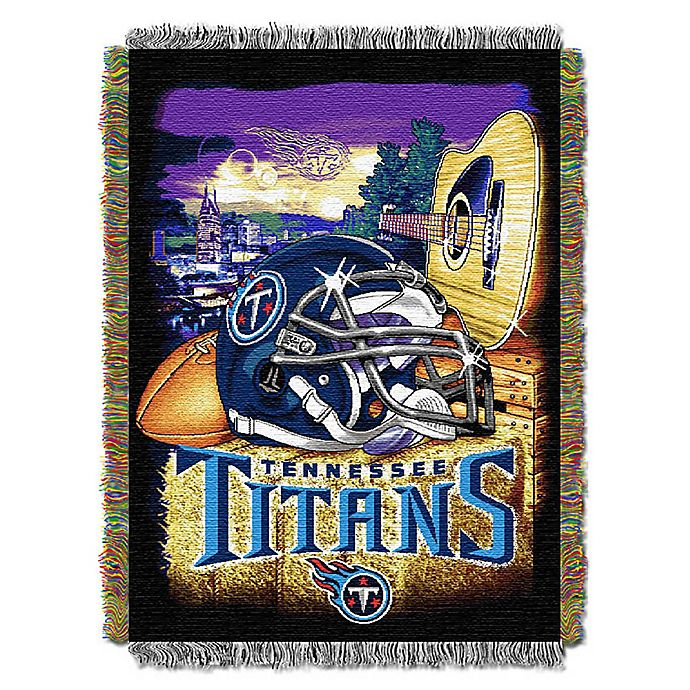 f0c0a38a NFL Tennessee Titans Tapestry Throw | Bed Bath & Beyond