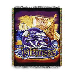 NFL Minnesota Vikings Tapestry Throw