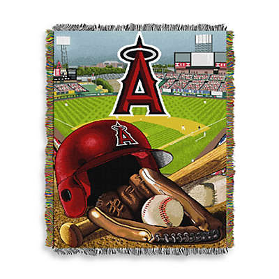MLB Los Angeles Angels Tapestry Throw