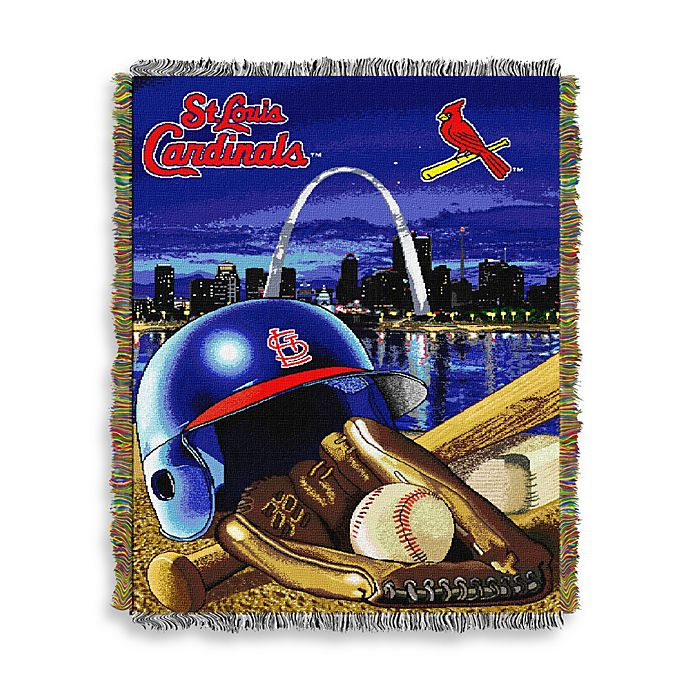 Alternate image 1 for MLB St. Louis Cardinals Tapestry Throw