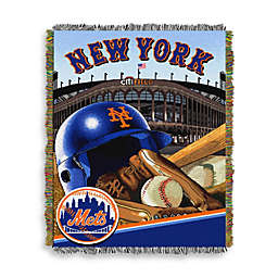 MLB New York Mets Tapestry Throw