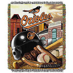 MLB Baltimore Orioles Tapestry Throw