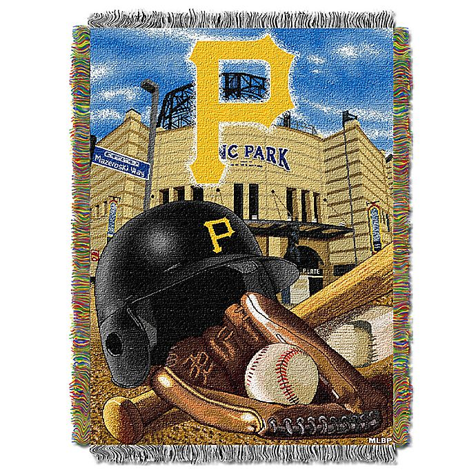 Alternate image 1 for MLB Pittsburgh Pirates Tapestry Throw