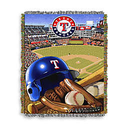 MLB Texas Rangers Tapestry Throw