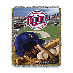 MLB Minnesota Twins Tapestry Throw