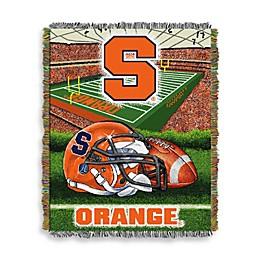 Syracuse University 48-Inch x 60-Inch Tapestry Throw Blanket