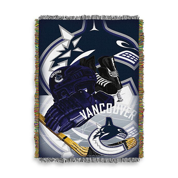 Alternate image 1 for NHL Vancouver Canucks Tapestry Throw