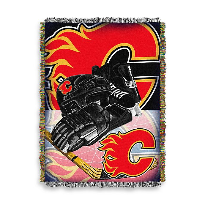 Alternate image 1 for NHL Calgary Flames Tapestry Throw