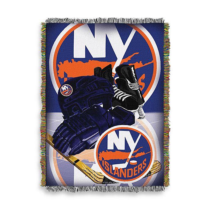 Alternate image 1 for NHL New York Islanders Tapestry Throw
