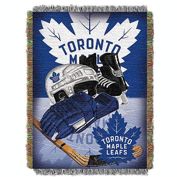 Alternate image 1 for NHL Toronto Maple Leaves Tapestry Throw