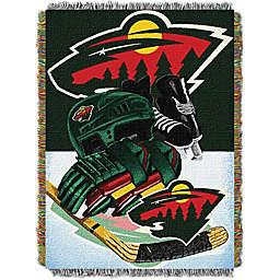 NHL Minnesota Wild Tapestry Throw