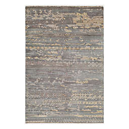 Momeni® 3'6 x 5'6 Terra Abstract Accent Rug in Grey