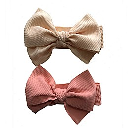 Curls & Pearls 2-Pack Bow Headbands