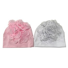 Curls & Pearls 2-Pack Flower Hats