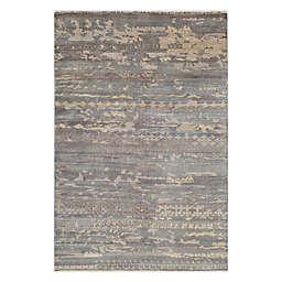 Momeni® 5' x 8' Terra Abstract Area Rug in Grey