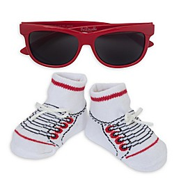 So 'dorable Sunglasses and Bootie Set in Red