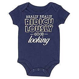 """Baby Starters® """"Ridiculously Good"""" Bodysuit in Navy"""