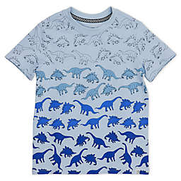 Sovereign Code® Ombrè Dino Toddler T-Shirt in Blue
