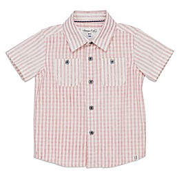 Sovereign Code® Woven Short Sleeve Shirt in Red