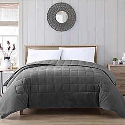 Therapedic® Lush Plush 12 lb. Weighted Twin Comforter in Grey
