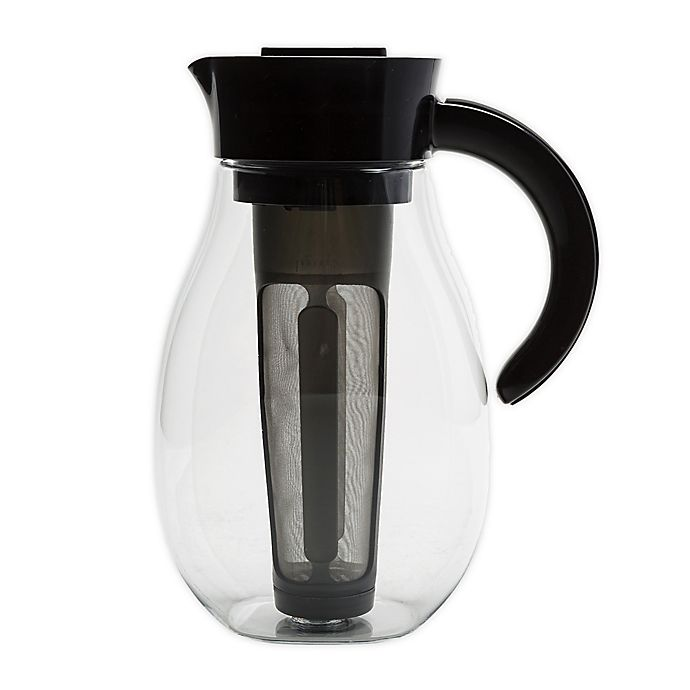 Alternate image 1 for Primula® Flavor Brew 2.7 qt. Pitcher in Black