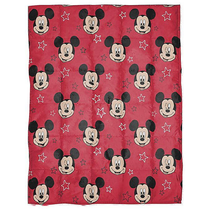 Alternate image 1 for Disney® Mickey Mouse Reversible Weighted Blanket