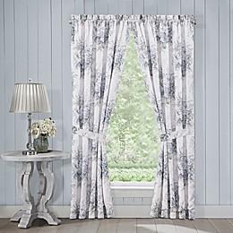 J. Queen New York™ Estelle 84-Inch Rod Pocket Window Curtain Panel Pair in Blue
