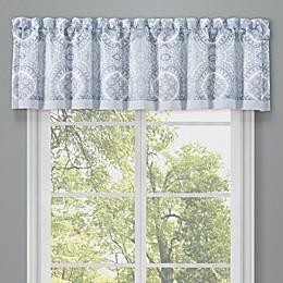 J. Queen New York™ Claremont Window Valance in Blue