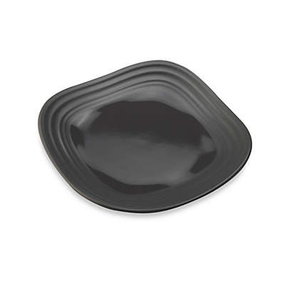 Mikasa® Swirl Square Appetizer Plate in Graphite