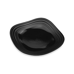 Mikasa® Swirl 6-Inch Square Appetizer Plate in Black
