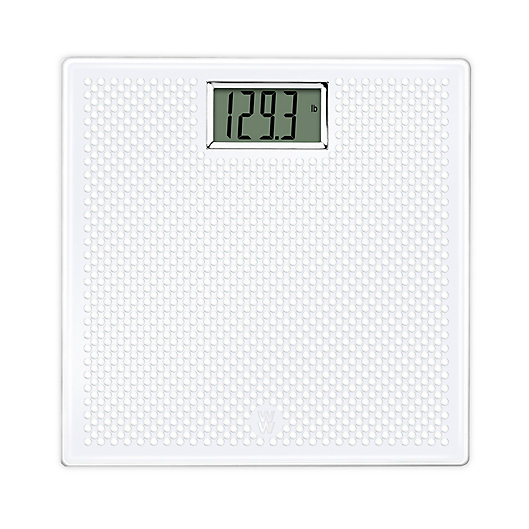 Alternate image 1 for Weight Watchers by Conair® Digital Gel Scale in White