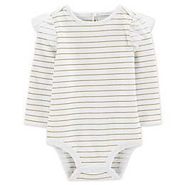 OshKosh B'gosh® Metallic Stripe Bodysuit