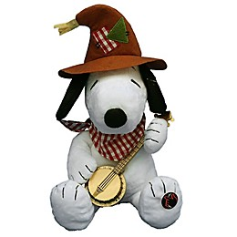 Peanuts™ 10-Inch Animated Snoopy Thanksgiving Decoration