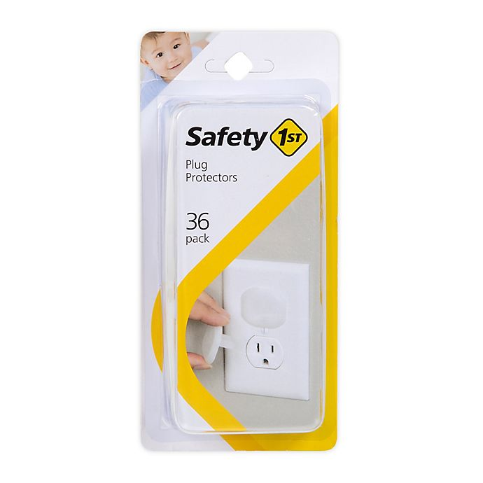 Alternate image 1 for Safety 1st® 36-Pack Plug Protectors in White