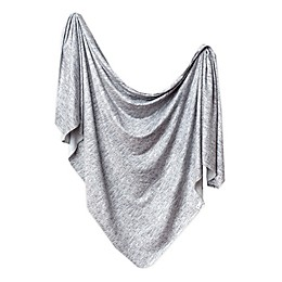 Copper Pearl™ Asher Knit Swaddle Blanket in Grey