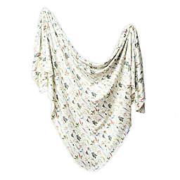 Copper Pearl™ Aspen Knit Swaddle Blanket in Eggshell