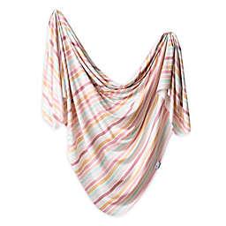 Copper Pearl™ Belle Knit Swaddle Blanket in Pink/Orange