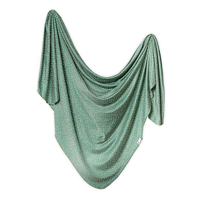 Copper Pearl Juniper Knit Swaddle