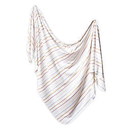 Copper Pearl™ Piper Knit Swaddle Blanket in White