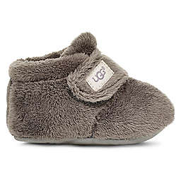 UGG® Size 0-6M Bixbee Booties in Charcoal