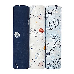 aden + anais® 3-Pack Silky Soft Swaddle Blankets
