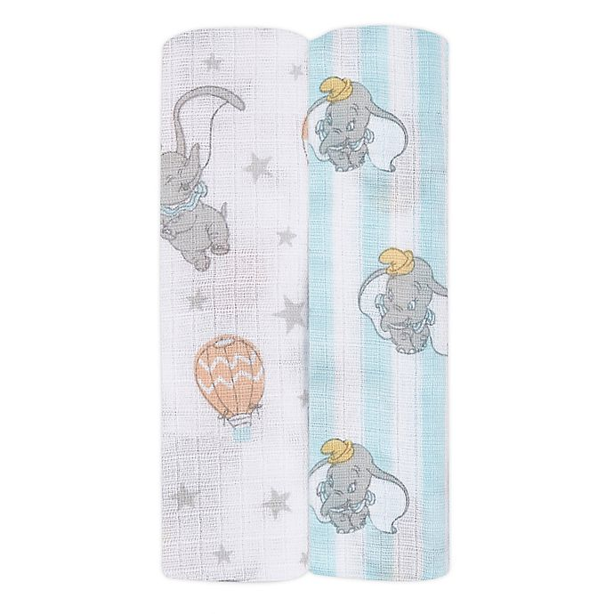 Alternate image 1 for aden + anais essentials® 2-Pack Disney® Swaddle Blankets
