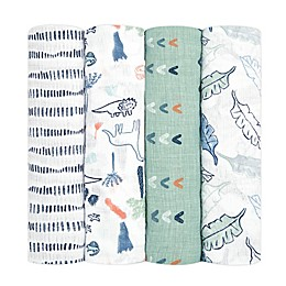 aden + anais essentials® 4-Pack Swaddle Blankets