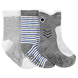 carter's® 3-Pack Shark Socks
