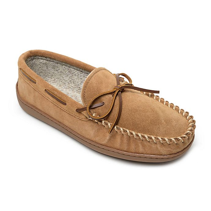 Alternate image 1 for Minnetonka® Aaron Men's Trapper Slippers